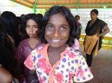 Portrait de Ramalakshmi lors d'une excursion