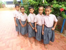 En uniforme pour l'école