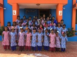 Les pensionnaires du Shanti Children's Home (2017)