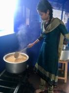 La vice-directrice en cuisine