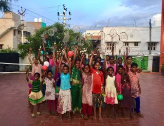 Après une heureuse partie de badminton