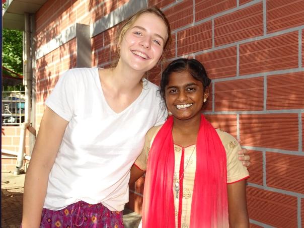 Pauline et Kavyadharshini