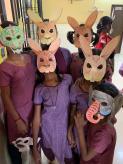 Les masques de l'atelier creatif 1