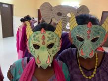 Les masques de l'atelier creatif 2